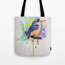 Nature does not hurry Tote Bag