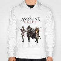 assassins creed Hoodies featuring Assassins Creed Attack by bivisual