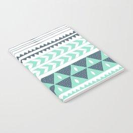 Winter Stripe Notebook