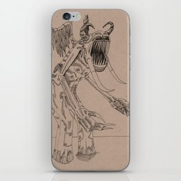 Boogieman in slacks iPhone Skin