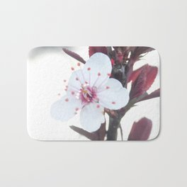 Blooming Plum Tree Bath Mat