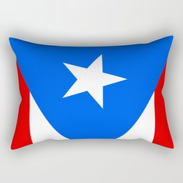 Puerto Rico Flag - Boricua Pride Rectangular Pillow
