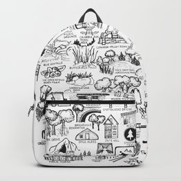 Cuyahoga Valley National Park Map Backpack