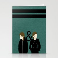 tegan and sara Stationery Cards featuring tegan & sara by lizbee