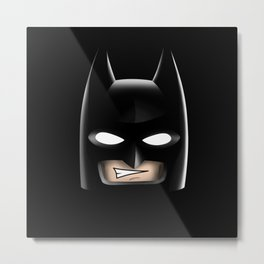 Bat Head Metal Print