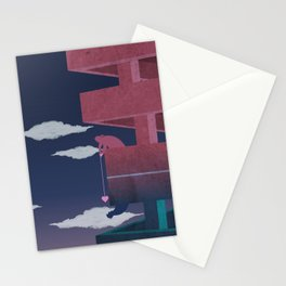 Building relationship Stationery Cards