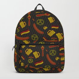 German Pattern Backpack