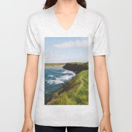 Ireland Coast Unisex V-Neck