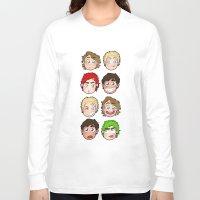 talking heads Long Sleeve T-shirts featuring Heads by gabitozati