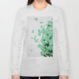 Glitz-Green Long Sleeve T-shirt