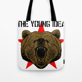The Young Idea - Grizzly Logo Tote Bag