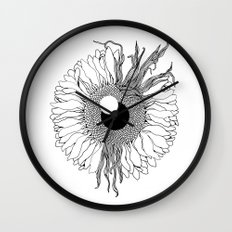 I See Beauty Until the End Wall Clock