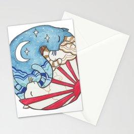 Yin Yang Cats Stationery Cards