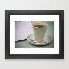 Coffee-2 Framed Art Print