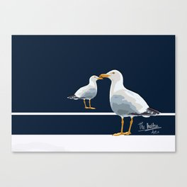 Two seaguls Canvas Print