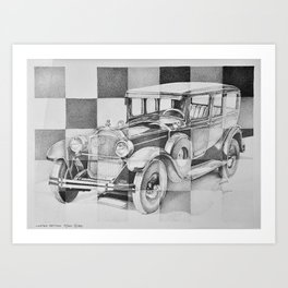 Packard Art Print