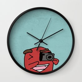 CameraMan Wall Clock
