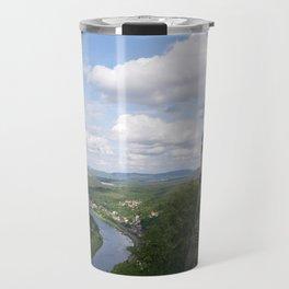 scene from repunzel Travel Mug