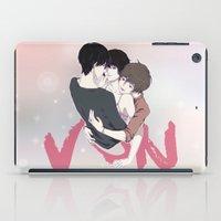 yaoi iPad Cases featuring Zankyou No Terror by Neo Crystal Tokyo