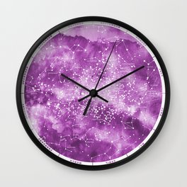 Southern Stars Rose Wall Clock