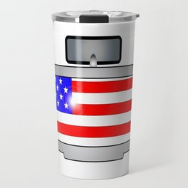 Driving Through America Travel Mug