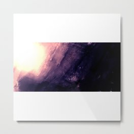 Monolithic - textured rock Metal Print