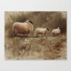 Mind Your Mum Canvas Print