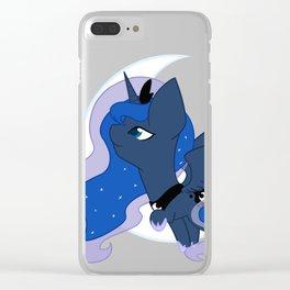 Chibi Princess Luna Clear iPhone Case