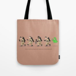 Who you gonna call - Ghostbusters (orange) Tote Bag