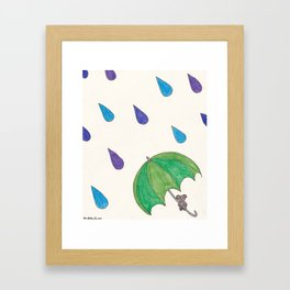 Spring Showers Framed Art Print