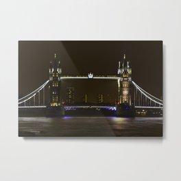Tower Bridge Unique Metal Print