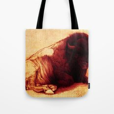 The Resting Of The Force Tote Bag