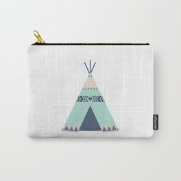 Mint Tipi Carry-All Pouch