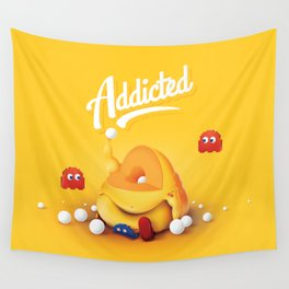 16 Bit Addiction Wall Tapestry