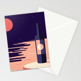 Moonlight + Wine Stationery Cards