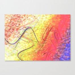 goodbye morning freestyle Canvas Print