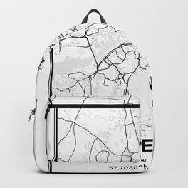 Gothenburg Light City Map Backpack