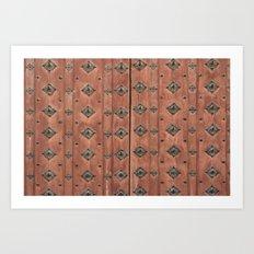 Leather Texture 91439 Art Print