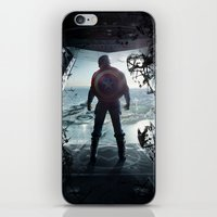 steve rogers iPhone & iPod Skins featuring Steve Rogers 002 by TheTreasure