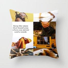 Hufflepuff Aesthetic Throw Pillow