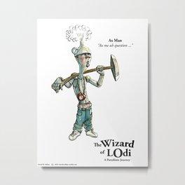 Ax Man (color) Metal Print