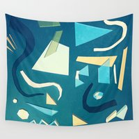 marine Wall Tapestries featuring marine by Carlos Castro Perez