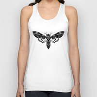 moth Tank Tops featuring Moth by Jimmy Breen