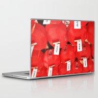 lantern Laptop & iPad Skins featuring Lantern by strentse