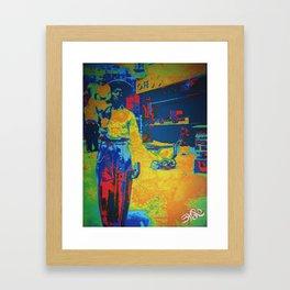 Daddy's Home Framed Art Print