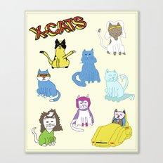 X-CATS Canvas Print