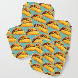 Taco Pattern Coaster