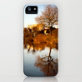 Viborg by the lake iPhone Case