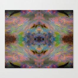 Australian Opal From Winton on fractal design Canvas Print