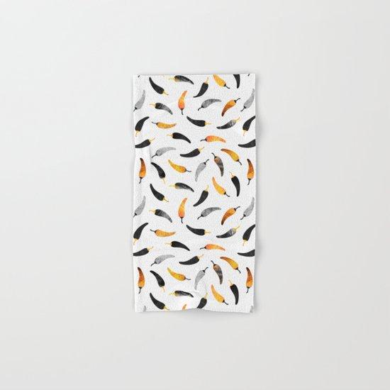 Chili Pattern 1 Hand & Bath Towel